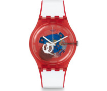 Unisexuhr Clownfish Red SUOR102
