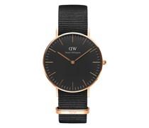 Unisexuhr Classic Black DW00100150