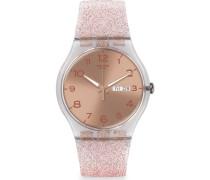Damenuhr Pink Glistar SUOK703