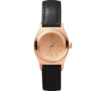 Damenuhr Small Time Teller Leather A509 1932