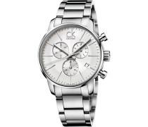 Herrenchronograph Ck city chrono K2G27146