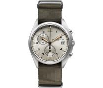 Herrenchronograph Khaki Pilot Pioneer Chrono Qua H76552955