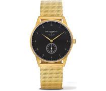 Signature Line Uhr Nautical Gold Mark I Black Sea PH-M1-G-B-4