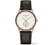 Signature Line Uhr Roségold Mark I White Ocean PH-M1-R-W-2