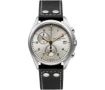 Herrenchronograph Khaki Pilot Pioneer Chrono Qua H76512755