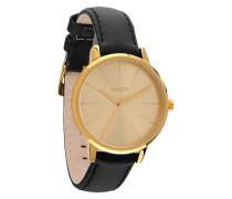 Damenuhr Kensington Leather Gold A108 501