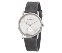Uhr Frida Weißer Marmor Asphaltgrau WATMFRI4196