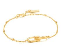 Armband Beaded Chain Link B021-01G