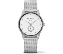 Signature Line Uhr Silber Mark I White Ocean PH-M1-S-W-4
