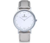 Herrenuhr Campina/Campus White Silver Silver Met CB03A1141F01A