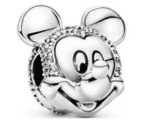 Charm Disney x Micky Maus Pavé Clip 797495CZ