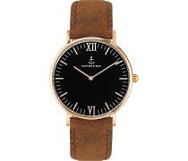 Uhr Campina/Campus Black RG Brown Vintage CA00B0203D11A