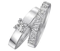 CHRIST Love Diamonds Damenring-Set 60036047