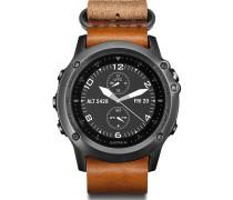 Smartwatch Fenix 3 Sapphire Leather Strap 40-27-2554