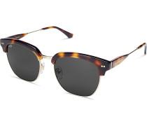 Sonnenbrille Havana Gloss Light Tortoise Black Glass KS06-LTG-BKG