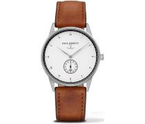 Signature Line Uhr Silber Mark I White Ocean PH-M1-S-W-1