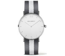 Sailor Line Uhr Silber White Sand PH-SA-S-St-W-GrW-20