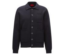 Oversize-Jacke aus fester Baumwolle