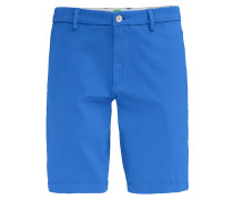 Slim-Fit Shorts aus Material-Mix