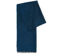Unifarbener Schal aus Viskose-Mix mit Baumwolle und Modal