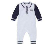 Baby-Overall aus Baumwolle in Feinstrick-Qualität