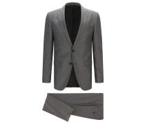 Slim-Fit Anzug aus Schurwoll-Mix