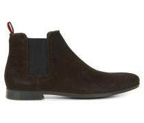 Chelsea Boots aus softem Veloursleder