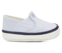 Baby-Schuhe mit Ledersohle