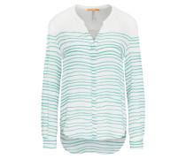 Relaxed-Fit Bluse aus Seide mit Streifen-Muster