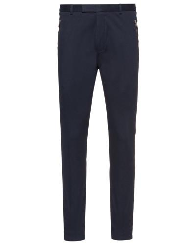 Slim-Fit Hose aus Stretch-Gabardine