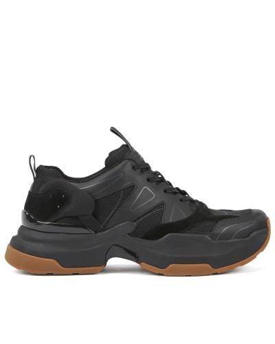 Strapazierfähige Sneakers aus Leder und Cordura®