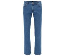 Regular-Fit Jeans aus komfortablem Stretch-Denim