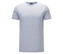 Regular-Fit T-Shirt aus Fil-à-Fil-Baumwolle