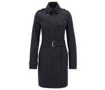 Regular-Fit Trenchcoat aus Baumwoll-Mix