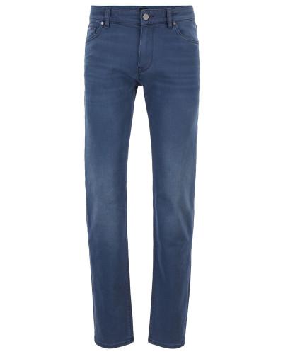Regular-Fit Jeans aus schwefelgefärbtem Stretch-Denim