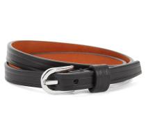 Armband aus Leder mit Dornschließe