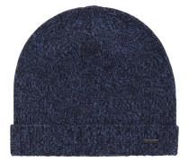 Mouliné-Mütze aus Kaschmir