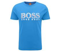 Regular-Fit T-Shirt aus reiner Baumwolle mit Logo