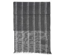 Gestreifter Schal aus Baumwoll-Mix