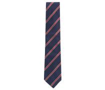 Krawatte aus garngefärbtem Seiden-Jacquard