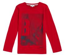 Kids-Shirt aus Baumwolle mit Logo-Print