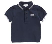 Kids Poloshirt aus Baumwolle mit Einfassungen