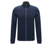 Zweiseitige Regular-Fit Sweatjacke