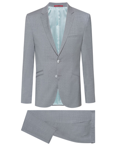 Extra Slim-Fit Anzug aus Schurwolle