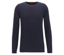 Slim-Fit Pullover aus Baumwoll-Mix mit Seide und Kaschmir