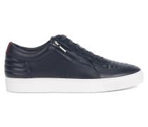 Sneakers aus gepolstertem Nappaleder mit Schnürung