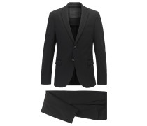 Slim-Fit Anzug aus Stretch-Jersey