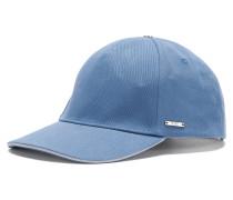 Unifarbene Cap aus Baumwolle