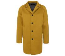 Ungefütterter Slim-Fit Mantel aus Neopren-Jersey