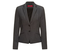 Regular-fit suit jacket in structured stretch wool